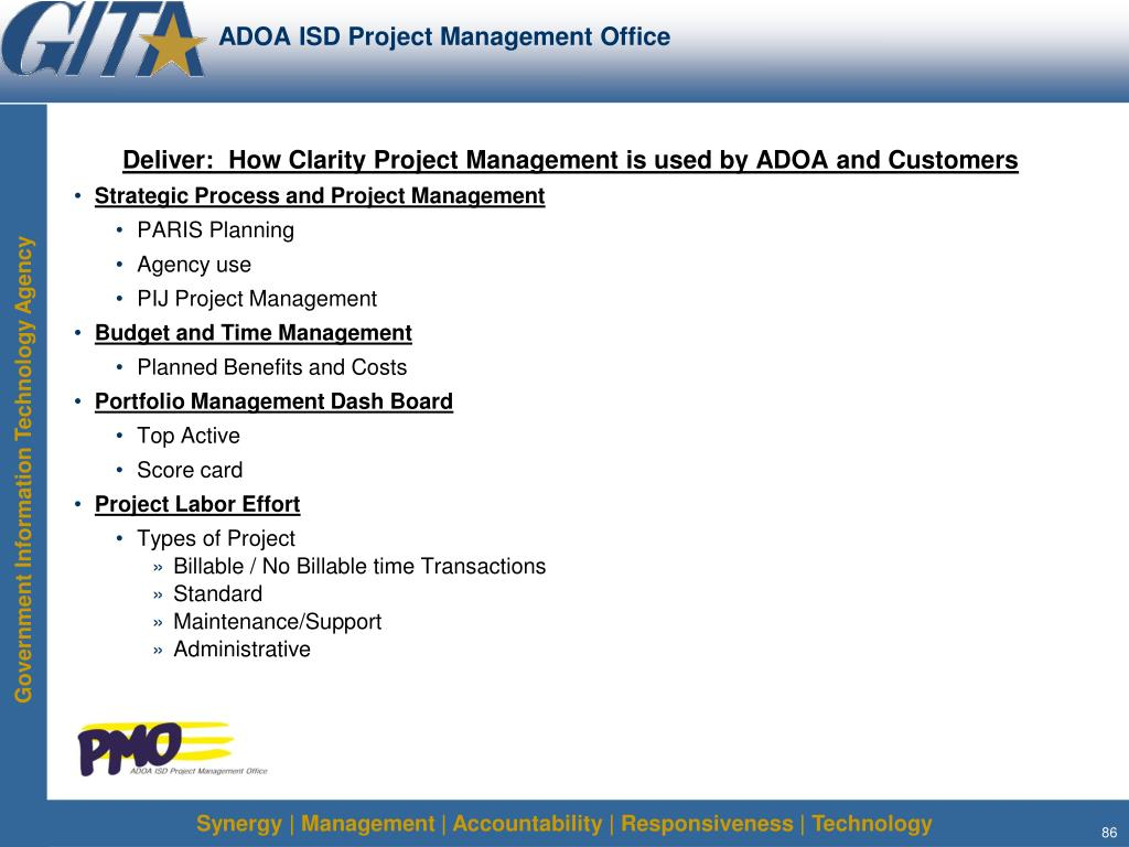ADOA ISD Project Management Office
