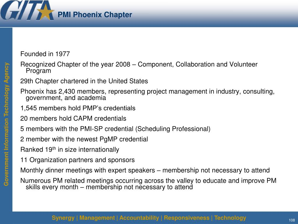 PMI Phoenix Chapter