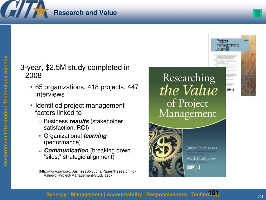 Research and Value