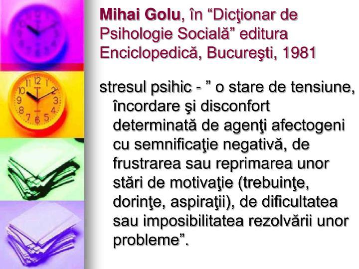 Mihai Golu