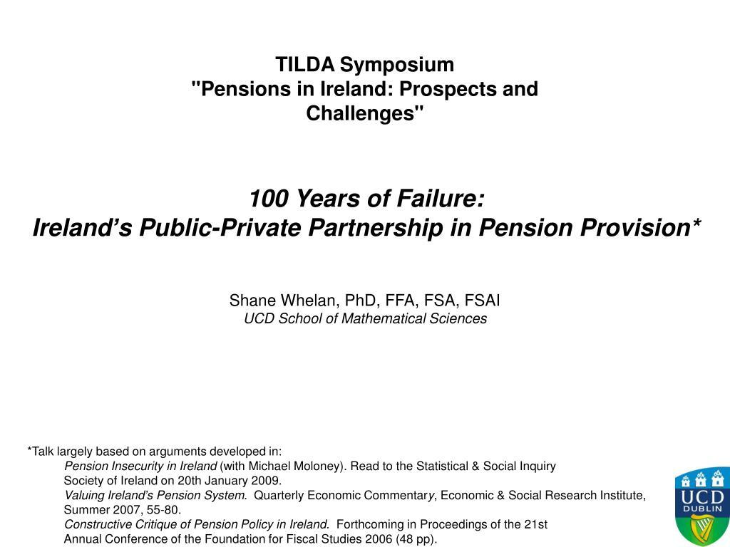 TILDA Symposium