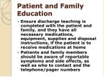 patient and family education2