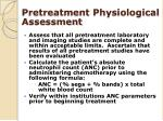 pretreatment physiological assessment1