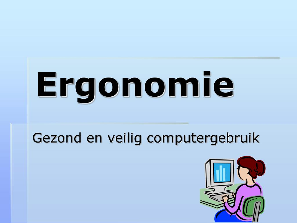 ergonomie l.