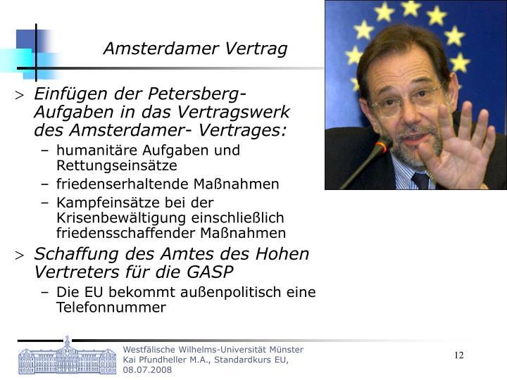 Amsterdamer Vertrag