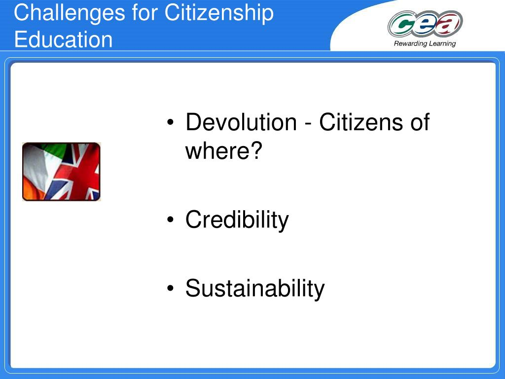 Challenges for Citizenship Education