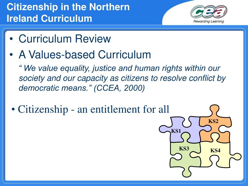 Citizenship in the Northern Ireland Curriculum