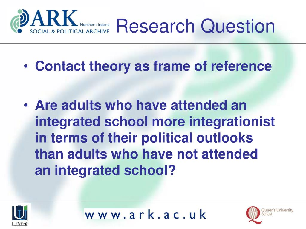 Contact theory as frame of reference