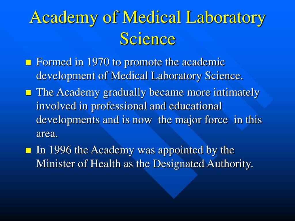 Academy of Medical Laboratory Science