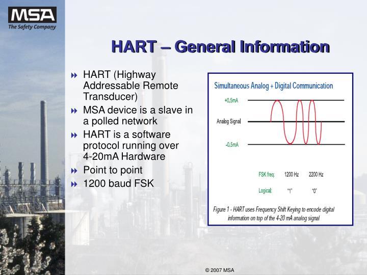Hart general information