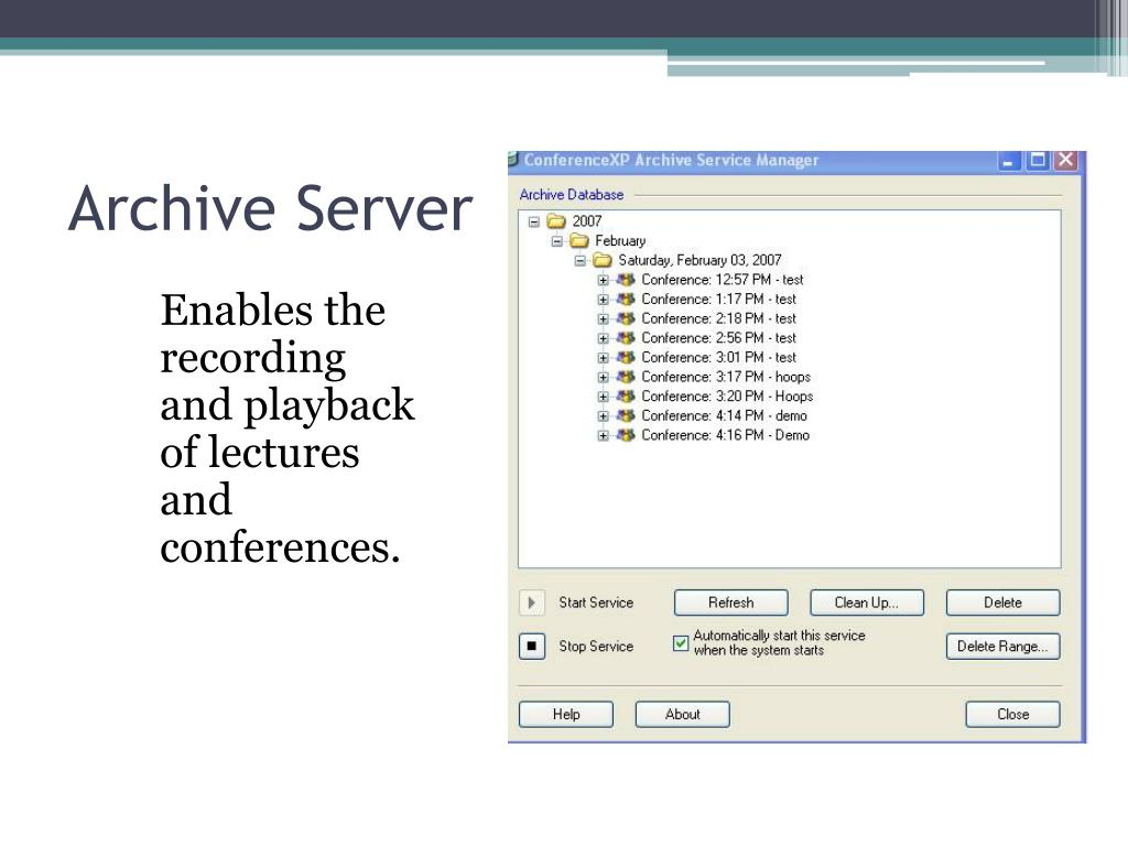 Archive Server