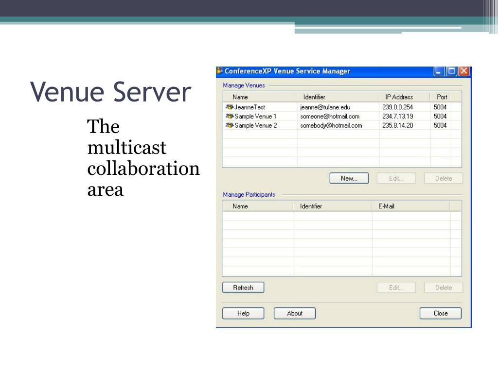 Venue Server