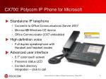 cx700 polycom ip phone for microsoft