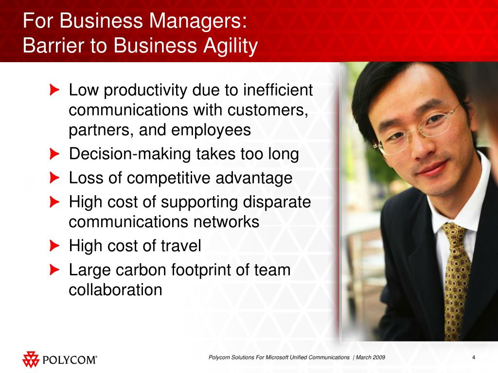 For Business Managers: