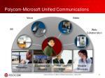 polycom microsoft unified communications