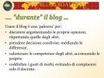 durante il blog48