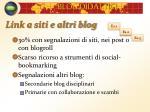 link a siti e altri blog