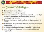 prima del blog