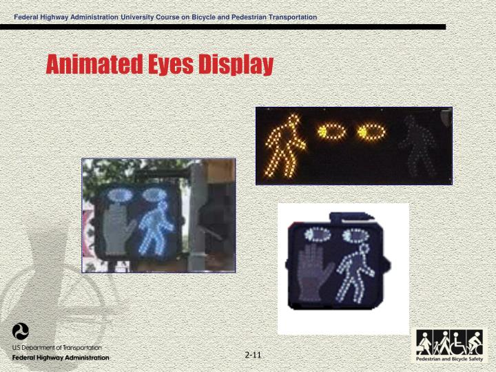 Animated Eyes Display