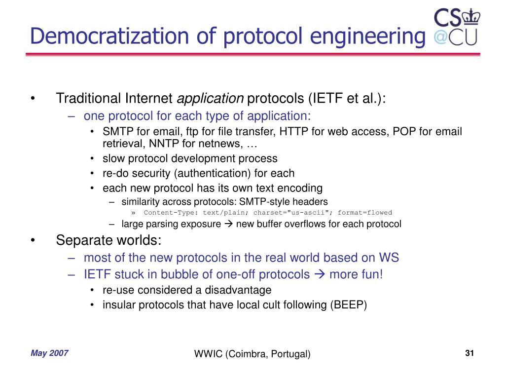 Democratization of protocol engineering