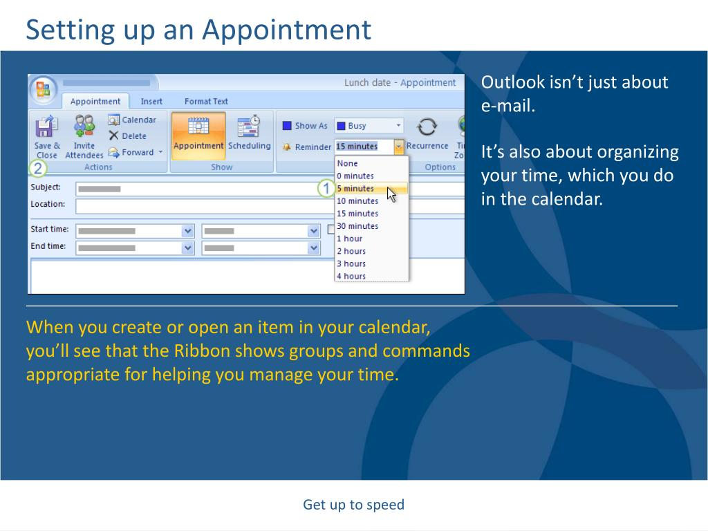 Setting up an Appointment