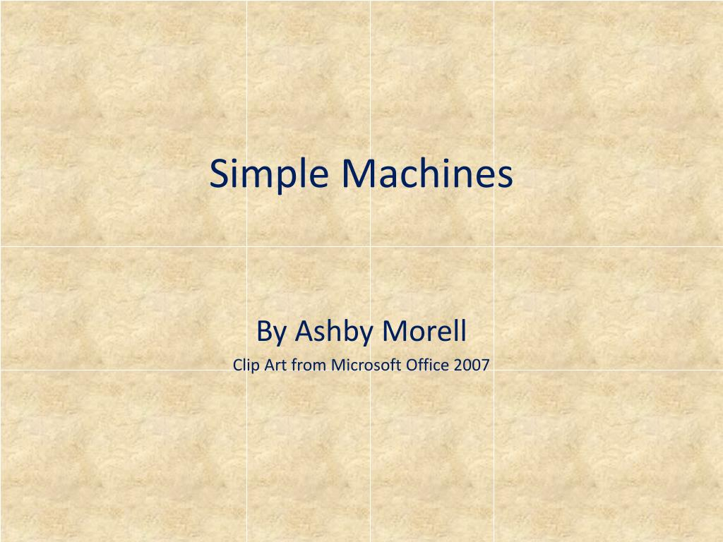 simple machines l.