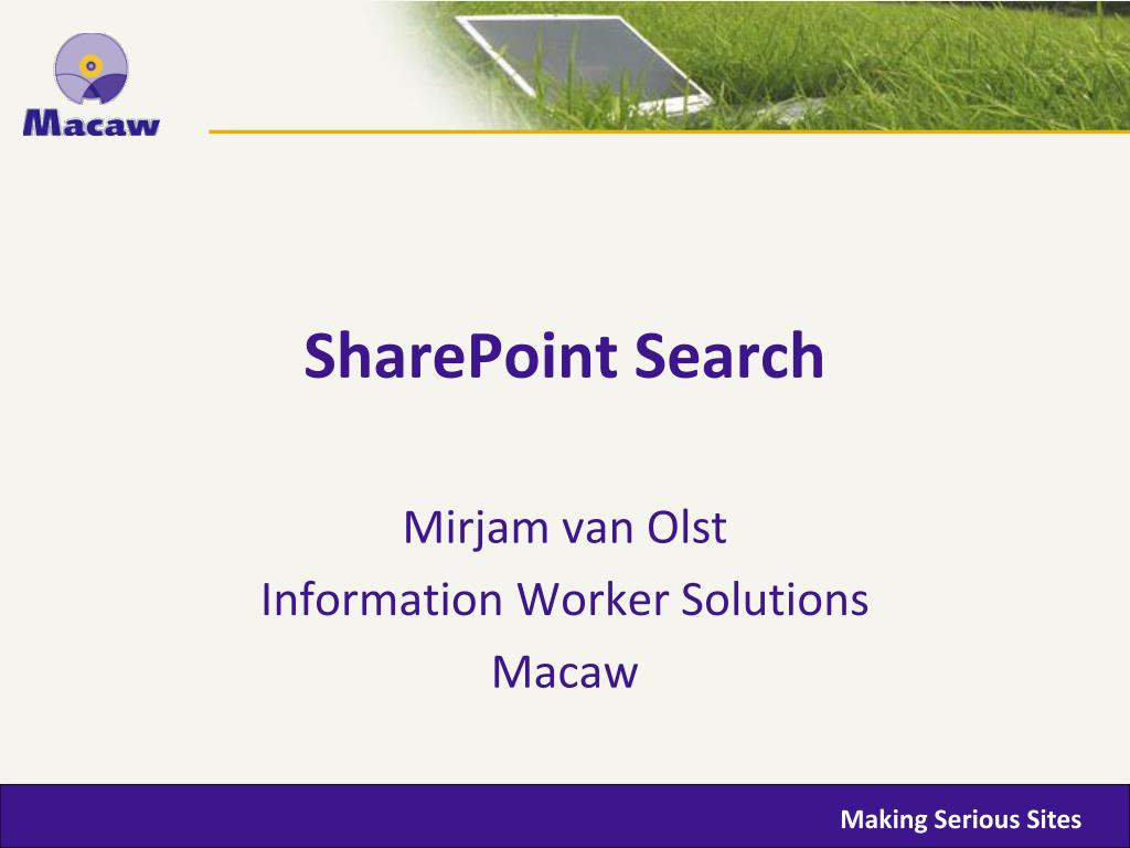 sharepoint search l.