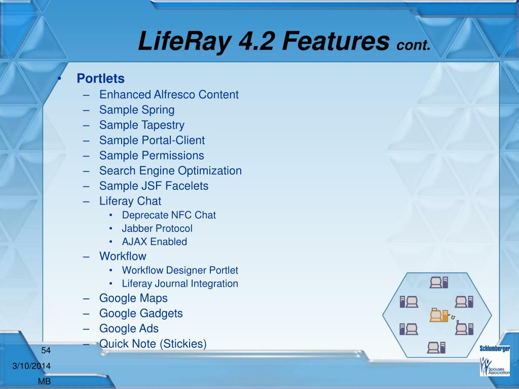LifeRay 4.2 Features