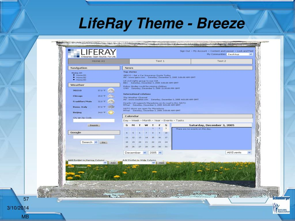 LifeRay Theme - Breeze