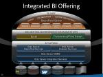 integrated bi offering