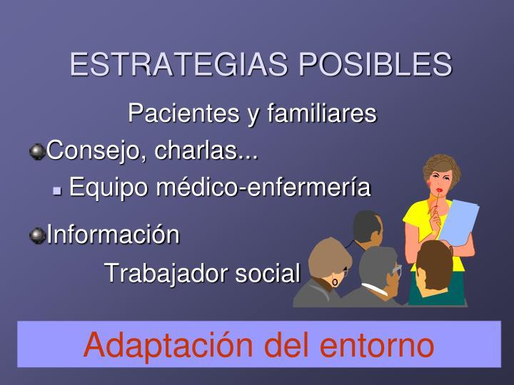 ESTRATEGIAS POSIBLES