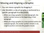 moving and aligning a graphic