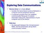 exploring data communications38