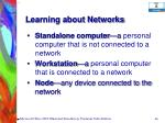 learning about networks46