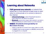 learning about networks49
