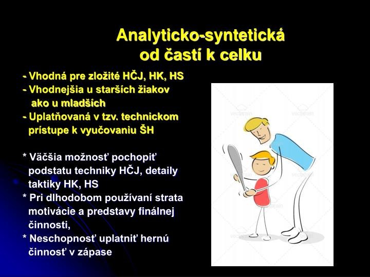 Analyticko-syntetická