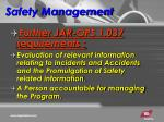 safety management2