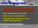 safety management3