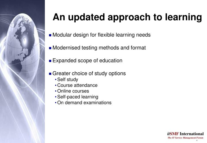 An updated approach to learning