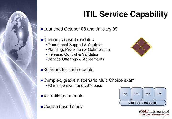 ITIL Service Capability