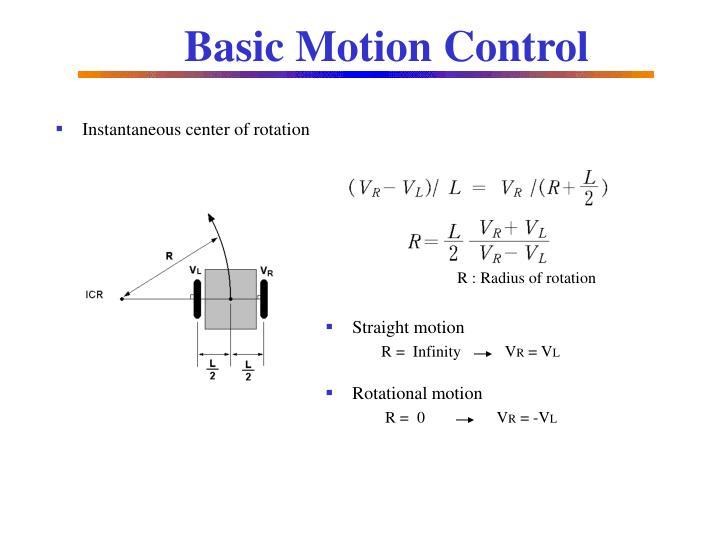 Basic Motion Control