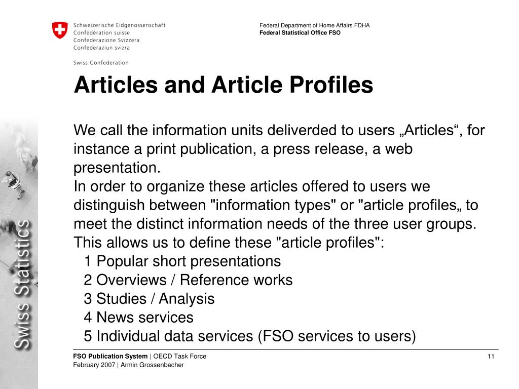 Articles and Article Profiles