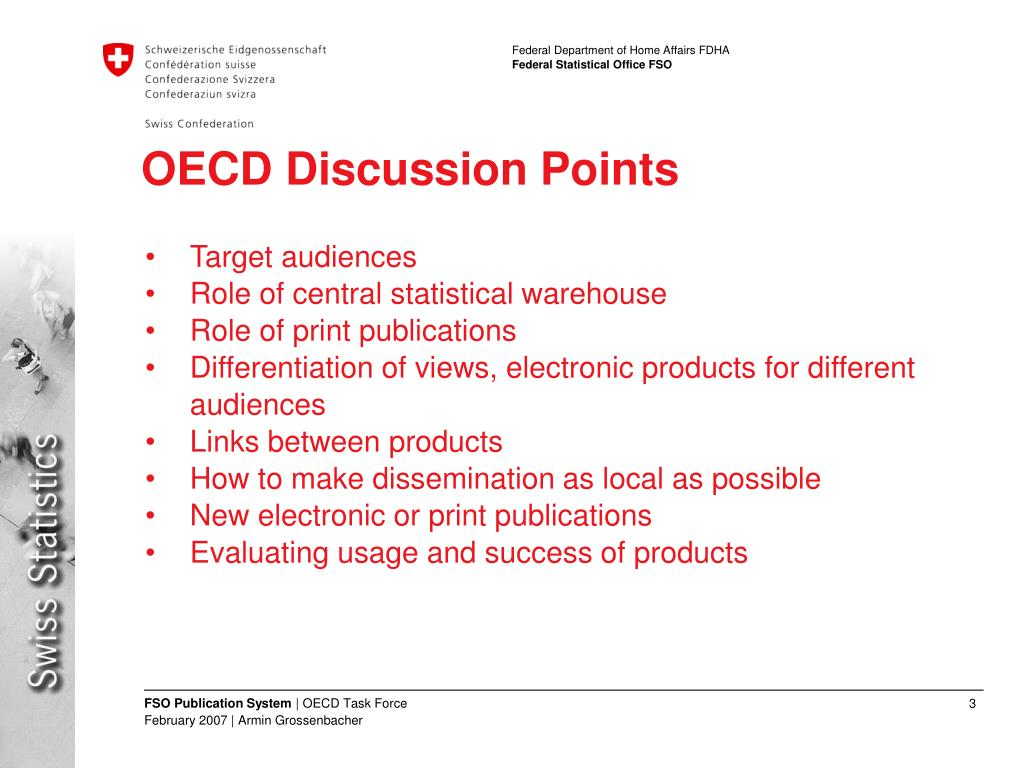 OECD Discussion Points