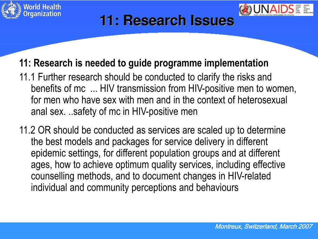 11: Research Issues