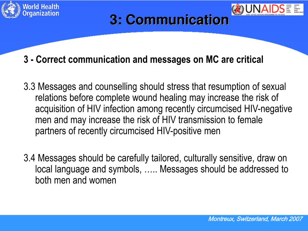 3: Communication