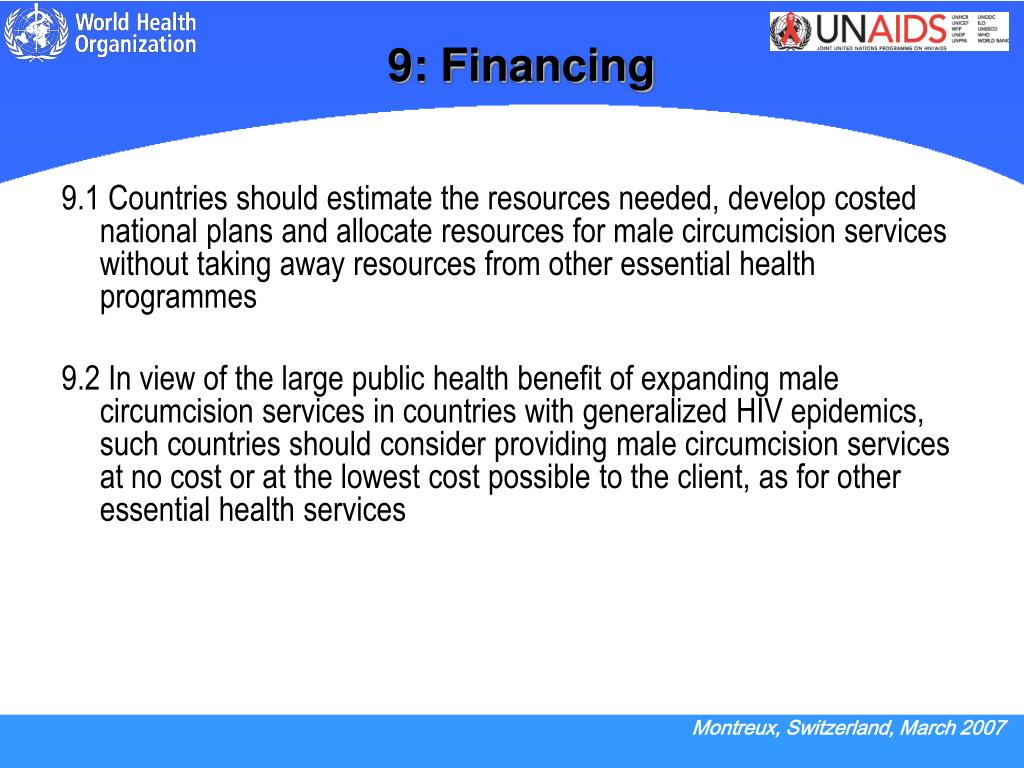 9: Financing