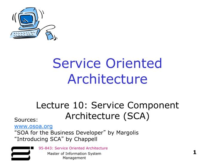 service oriented architecture n.