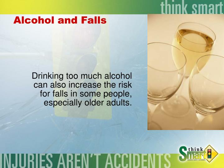 Alcohol and Falls