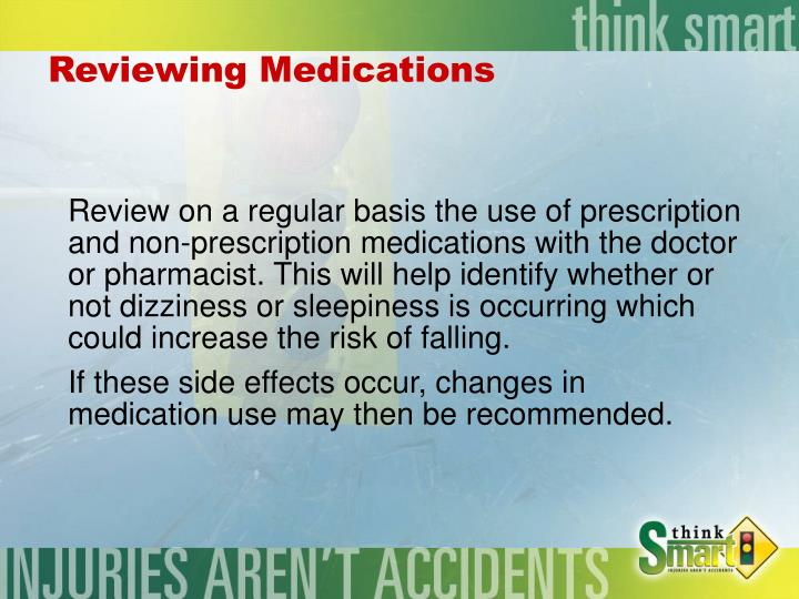 Reviewing Medications