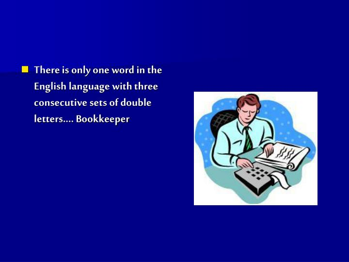 Ppt Amazing Facts About The English Language Powerpoint